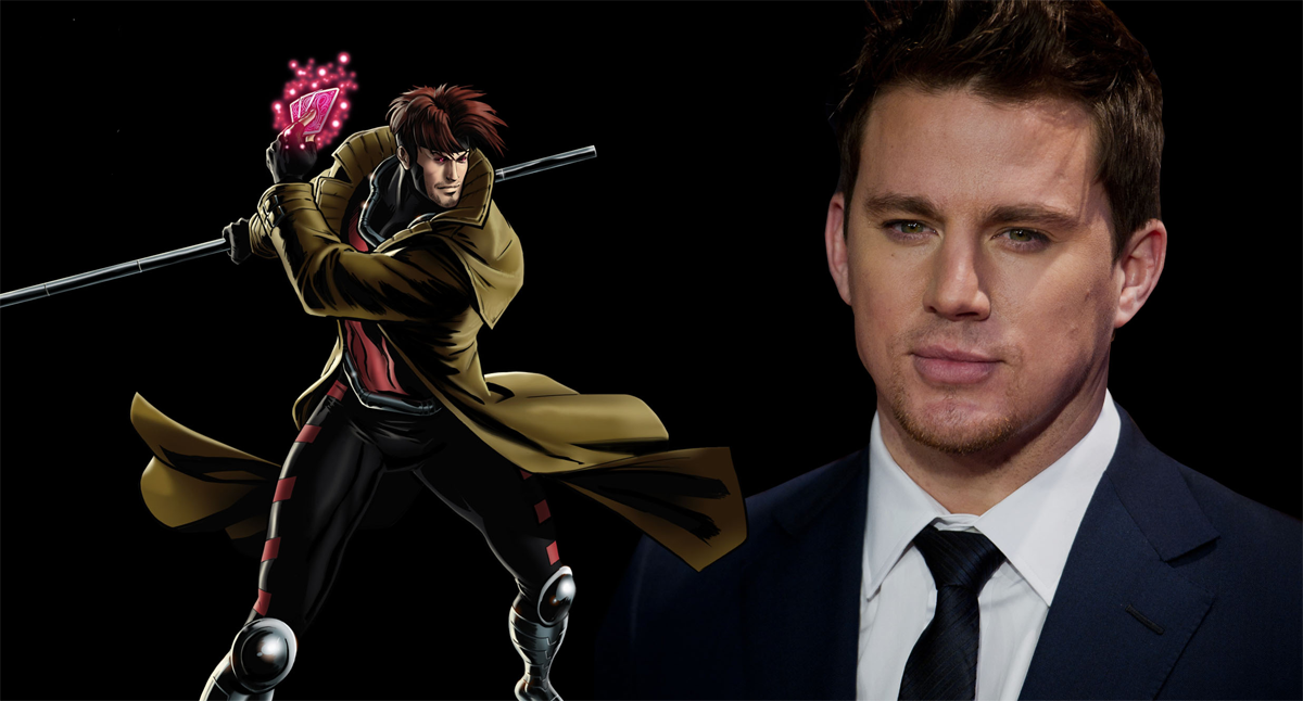 Channing Tatum has been confirmed to play popular X-Men character, Gambit