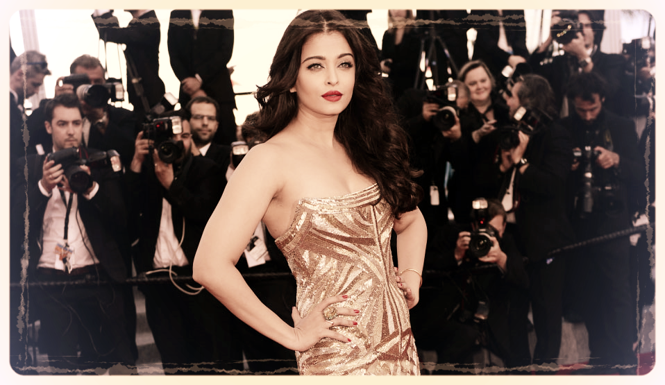 Aishwarya looked breathtaking on the red carpet