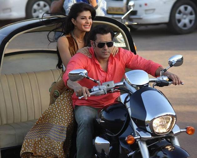 Salman-Jacqueline in  Kick