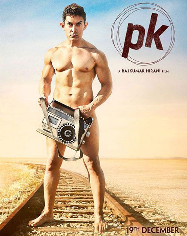The first poster of  PK  featuring a nude Aamir Khan, kicked off the film's promotions