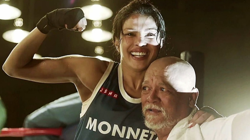 Priyanka gave   Mary Kom   her all, often rising above a convenient script