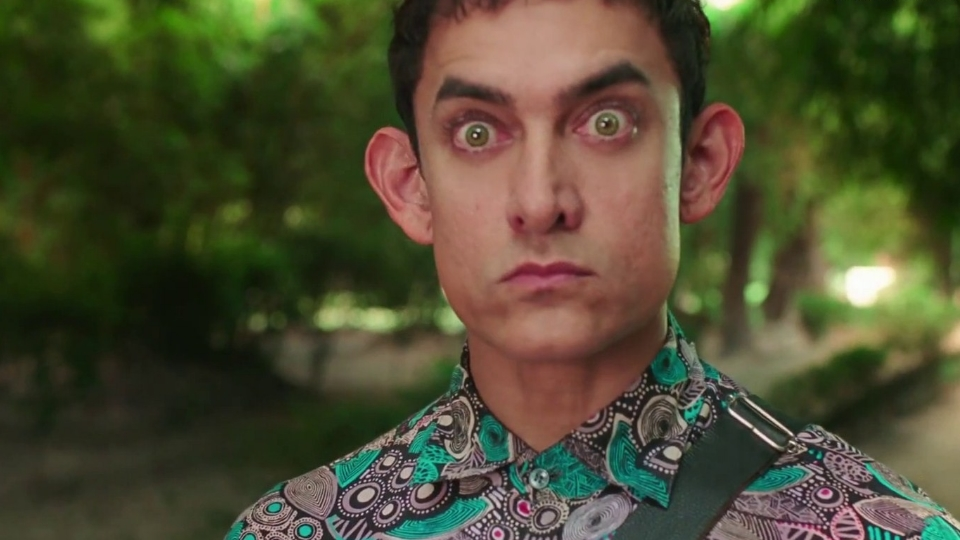 Aamir won hearts with his childlike performance in   PK