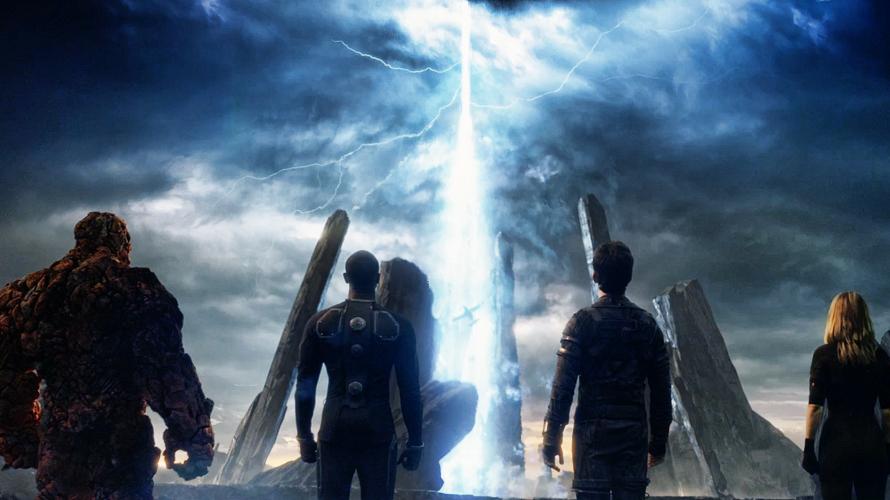 Things get dark in  Fantastic Four