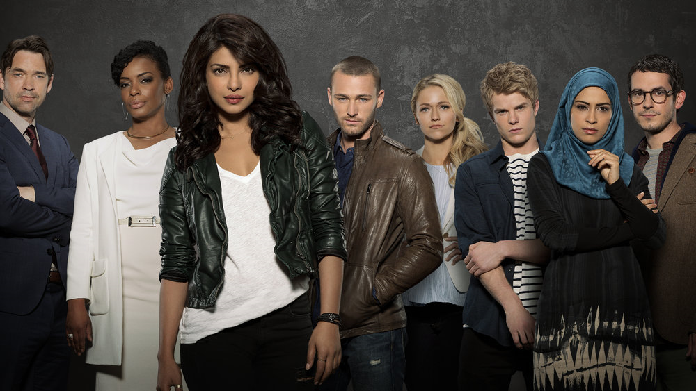 Chopra's foray into American television with  Quantico  has met with unanimous applause