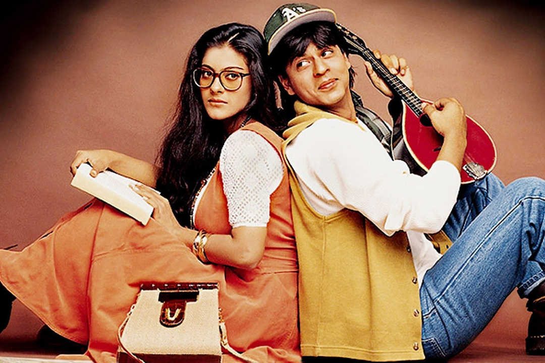 Kajol's Simran was the perfect, uptight foil to SRK's often brattish yet playful Raj,
