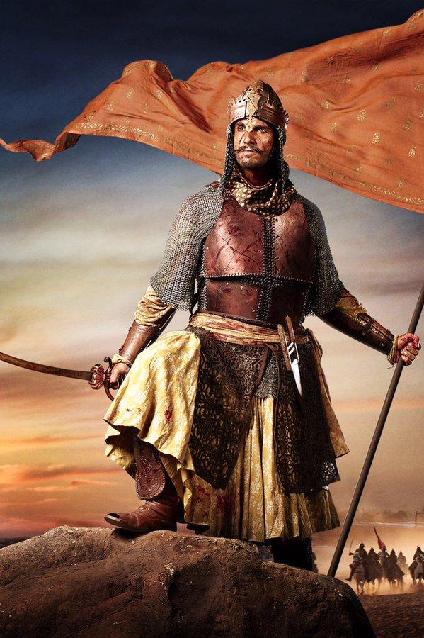 Singh looks every bit the Maratha general