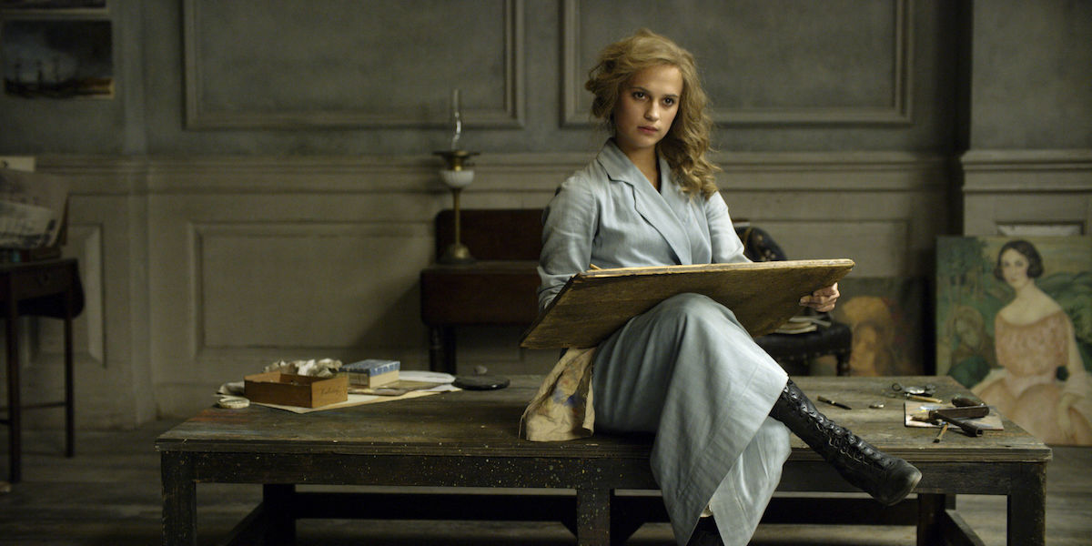 Alicia Vikander gives a powerful performance as the supportive wife Gerda Wegener