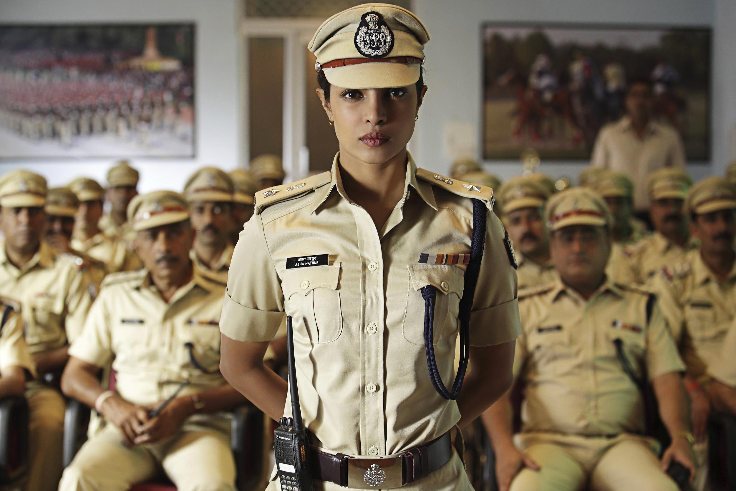 Priyanka as a no-nonsense cop in  Jai Gangaajal