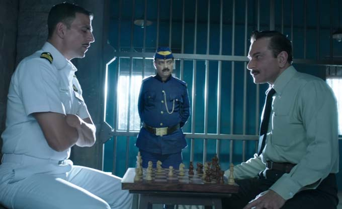 Rustom  is based on the real life incident of Naval Officer K.M. Nanavati