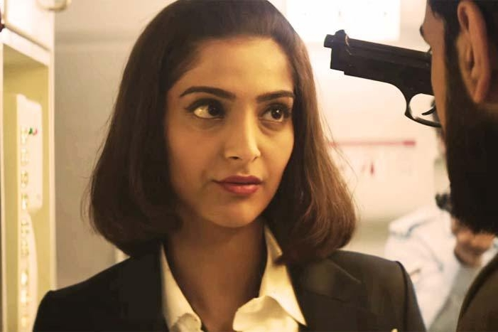 Sonam in and as the unforgettable  Neerja