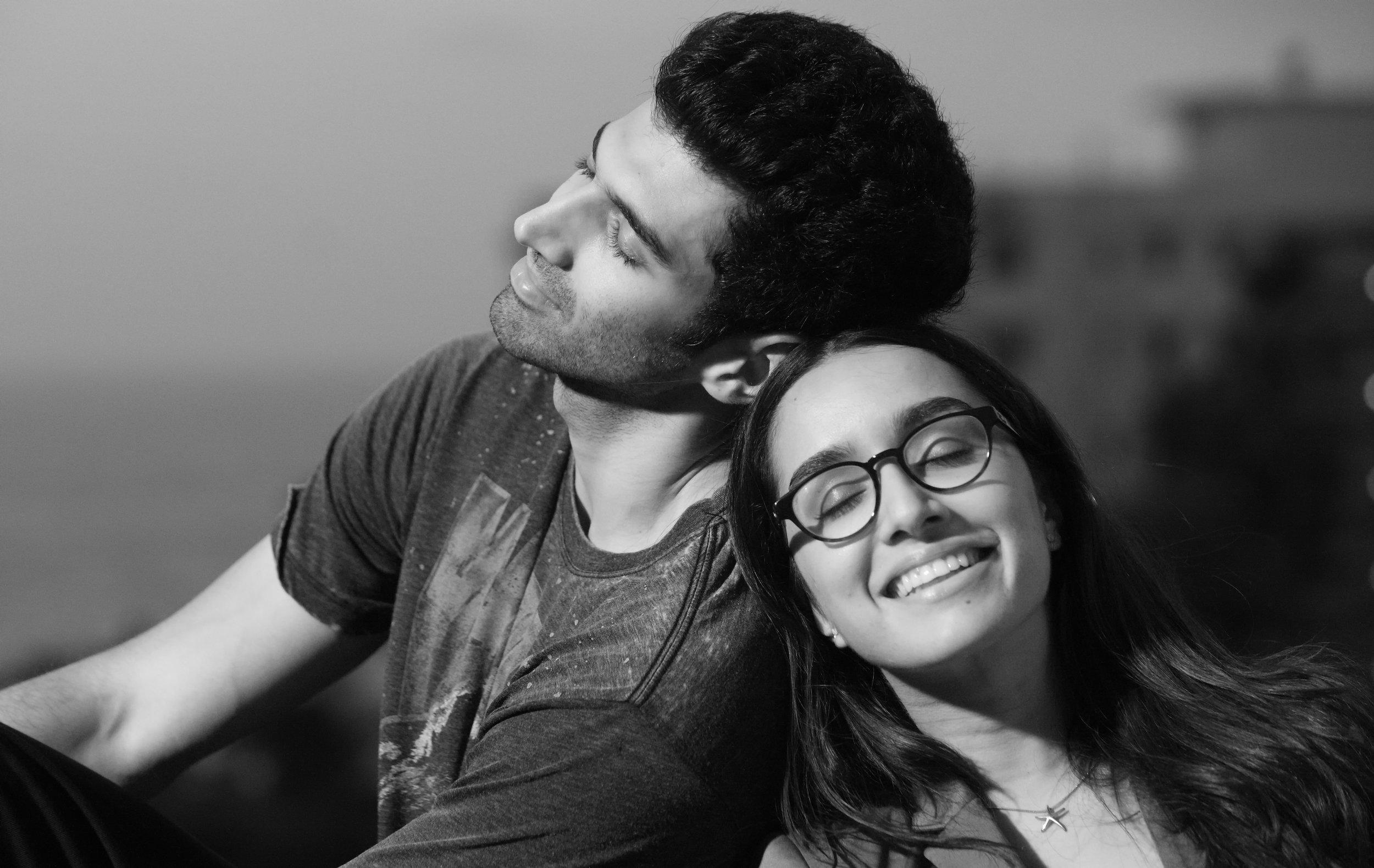 Leaning on you – Aditya-Shraddha in  OK Jaanu