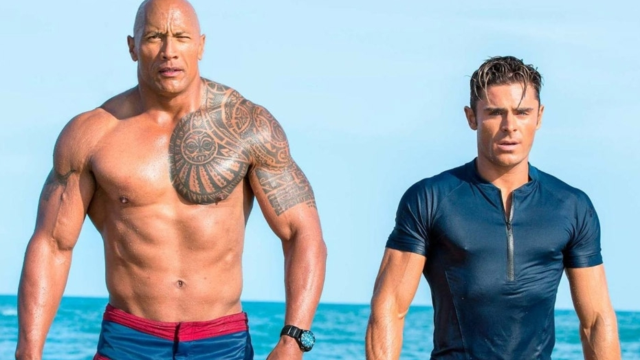 Johnson and Efron huff and puff but do little to elevate the film