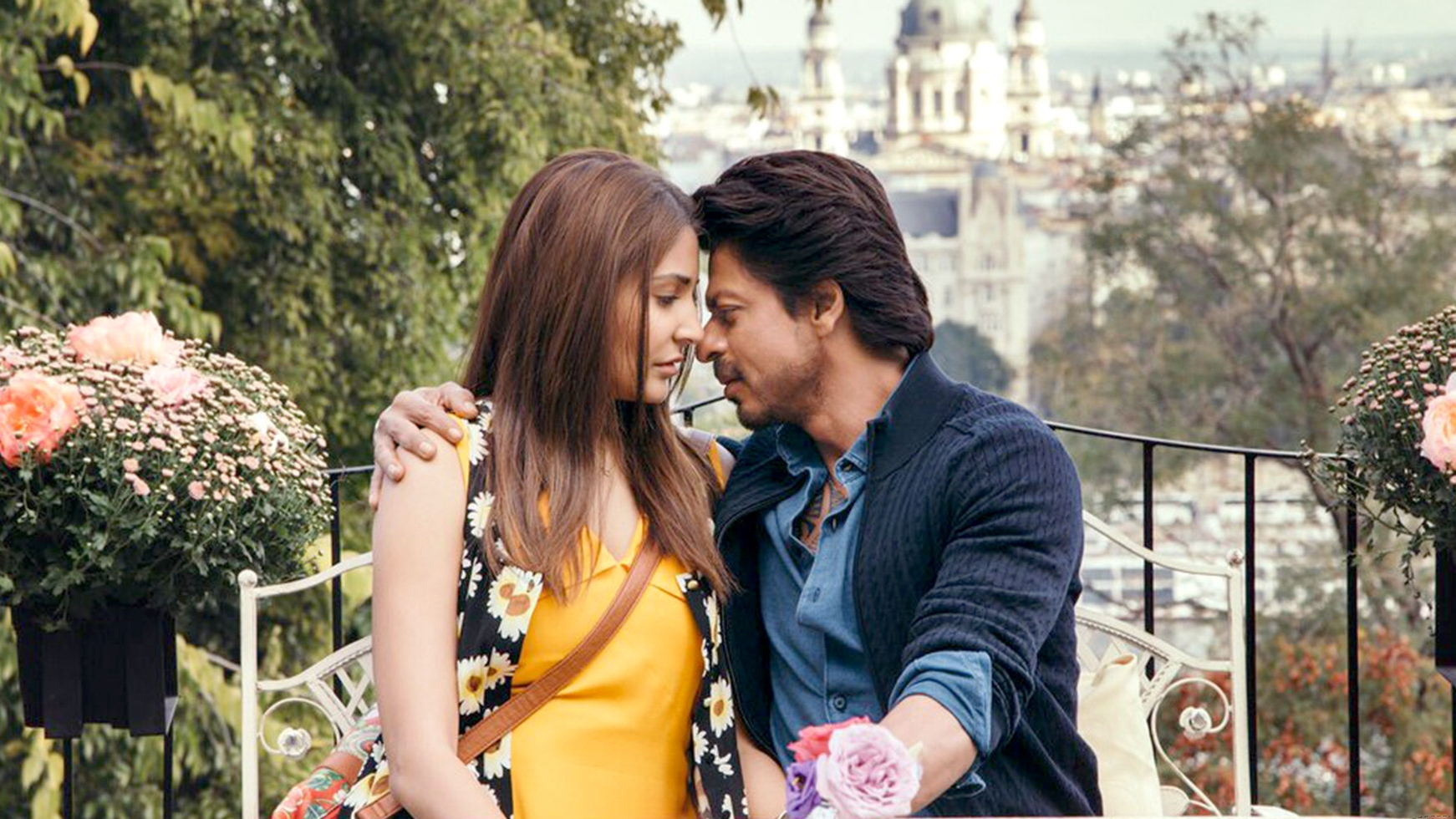 Shah Rukh Khan & Anushka Sharma in the turd that was  Jab Harry Met Sejal