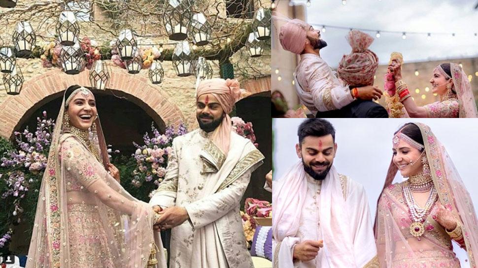 The year ended on a high when Anushka Sharma married Virat Kohli