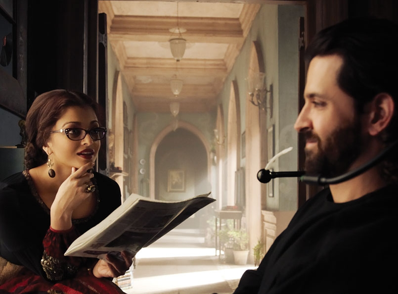 Guzaarish  (2010)   This film unfairly tanked at the box office, and perhaps deserved more credit than it ultimately received. In the film Hrithik plays Ethan Mascarenhas, a former magician and thereafter a quadriplegic, paralyzed from neck down, who ends up falling in love with his nurse (played with equal aplomb by Aishwarya Rai Bachchan). The Sanjay Leela Bhansali film was heavy viewing, and perhaps a tad on the melodramatic side, but worth watching for Hrithik's gut wrenching performance if nothing else.