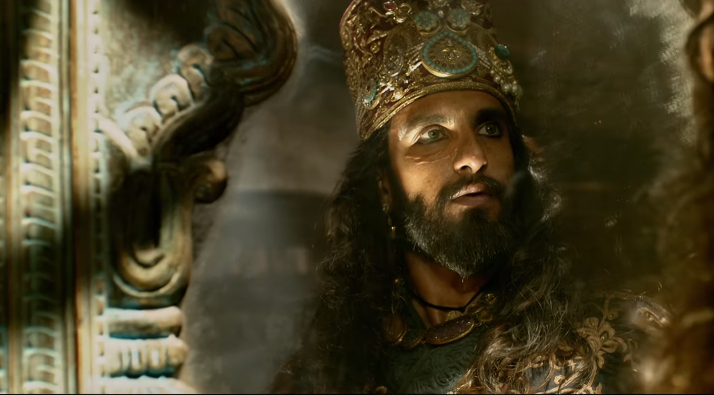 Padmaavat  is at its most compelling when it focuses on SIngh's Khilji