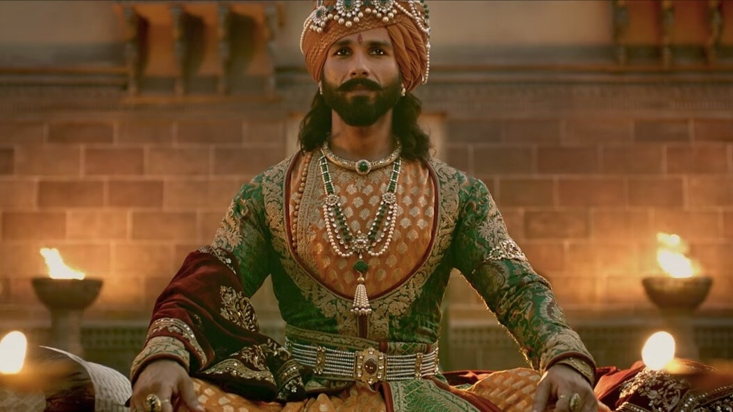 Shahid Kapoor's Ratan Singh is the sort of character whose entire arc is composed of foolhardy decisions