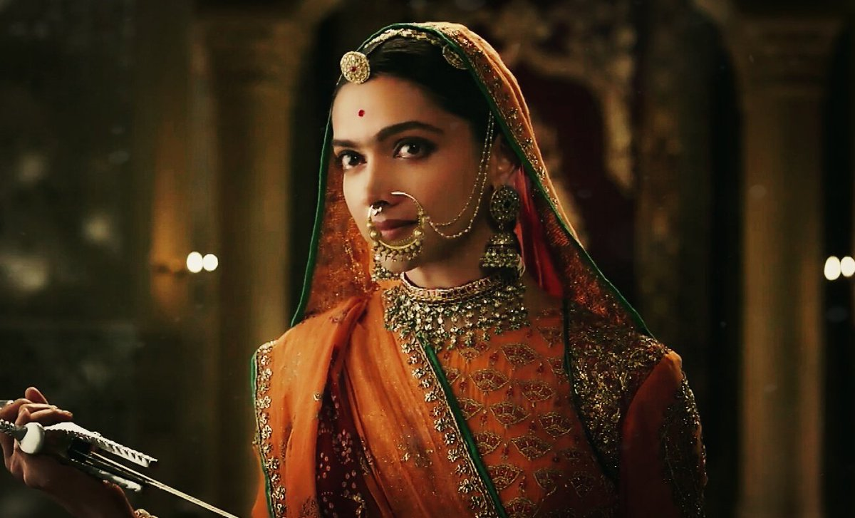 Deepika tries valiantly enough especially in the Jauhar sequence