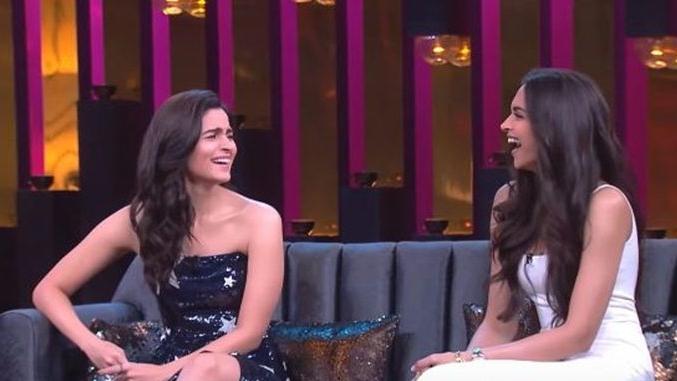 Giggles galore - Alia and Deepika open  Koffee With Karan Season 6