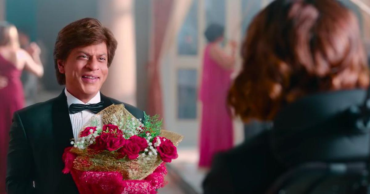 SRK is earnest and will hopefully underplay the part
