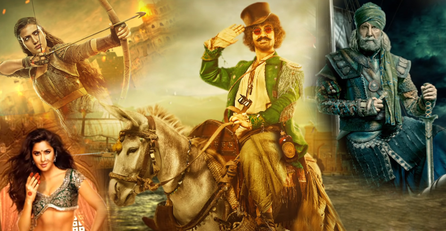 Thugs of Hindostan  character introduction posters