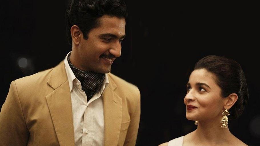 Vicky Kaushal and Alia Bhatt in  Raazi
