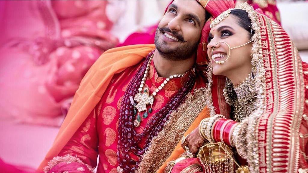 Deepika Padukone married long time beau Ranveer Singh at a private ceremony in Lake Como