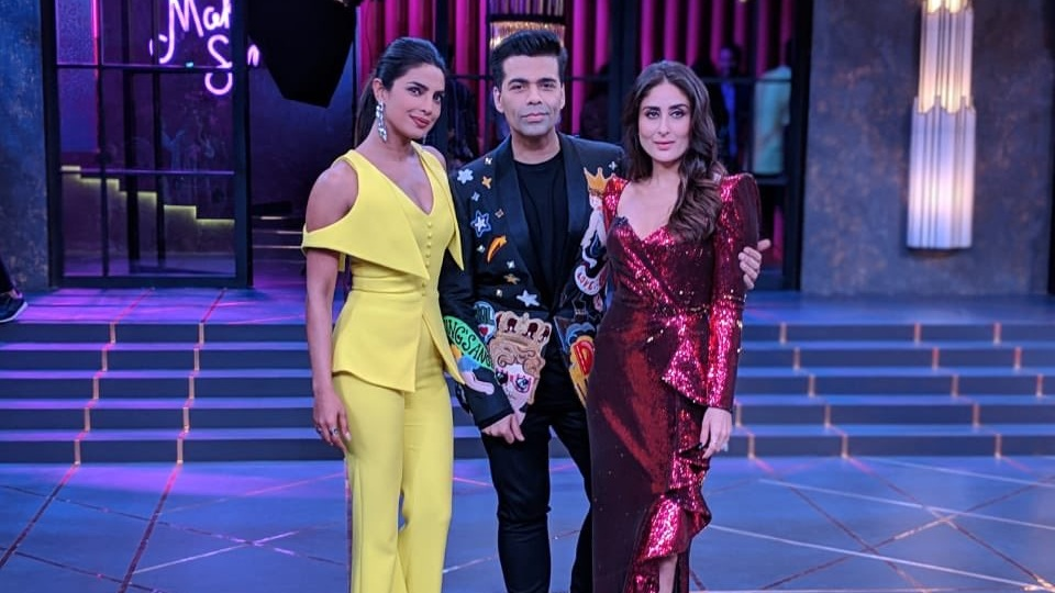 Sassy, sexy and stylish PC & Bebo were at their sizzling best in the finale of  Koffee With Karan