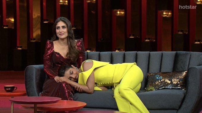 Giggle Goddesses: Kareena & Priyanka were a joy on the Koffee couch