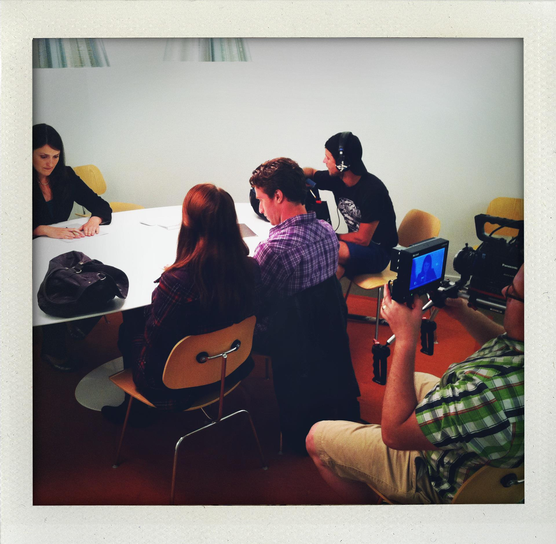 Shooting on location in NYC for our latest indie film 'Ready Or Not'