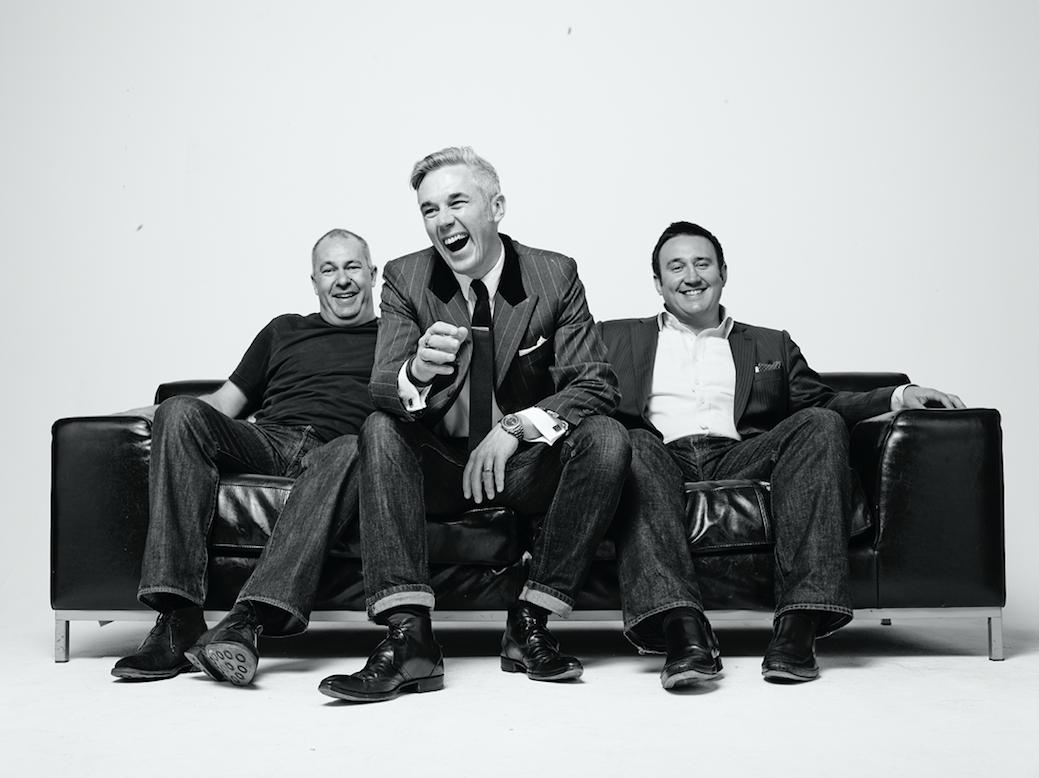 John Diss, Philip Slade, Ben Stobart