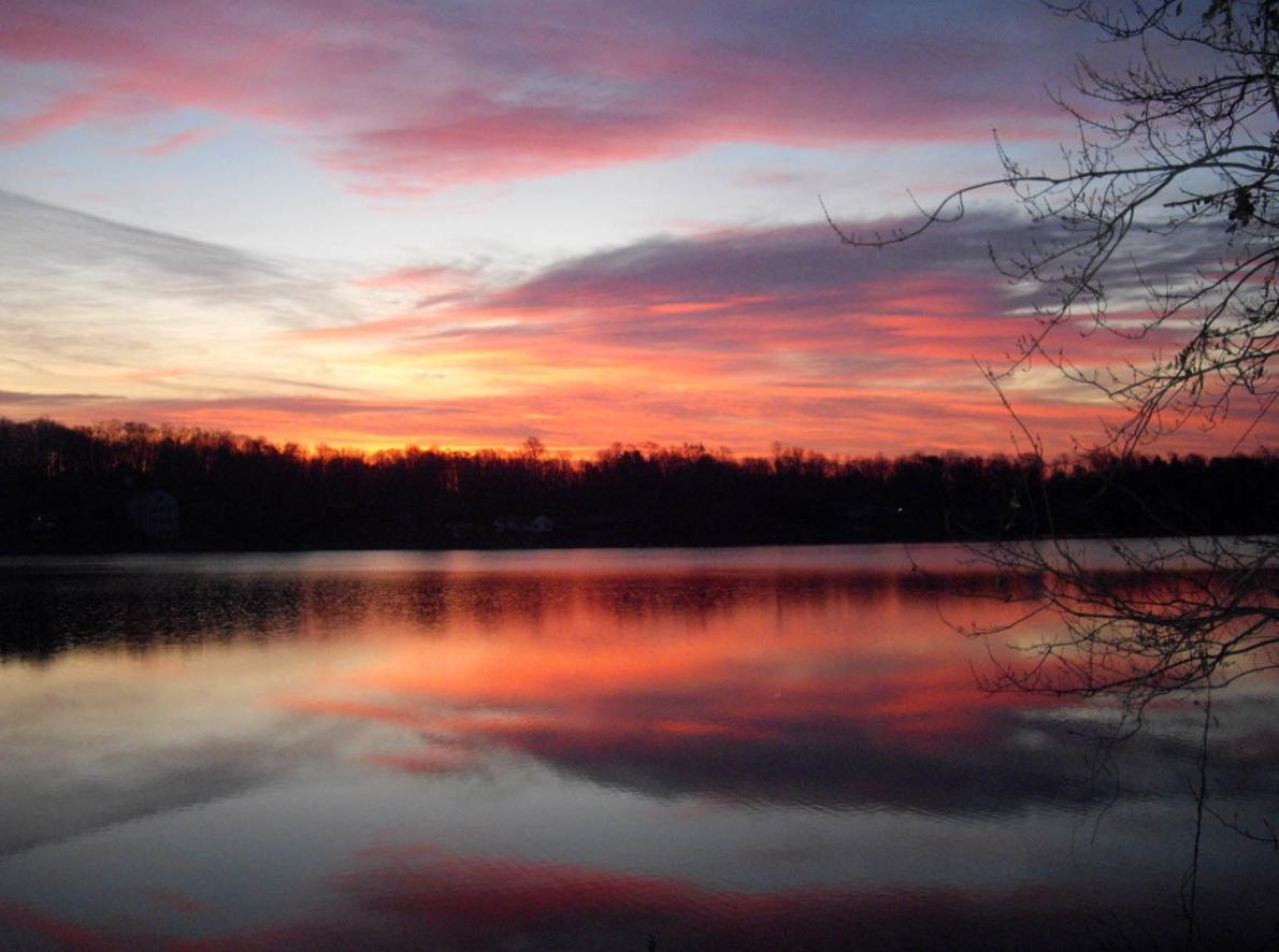 Lake Beseck Sunrise