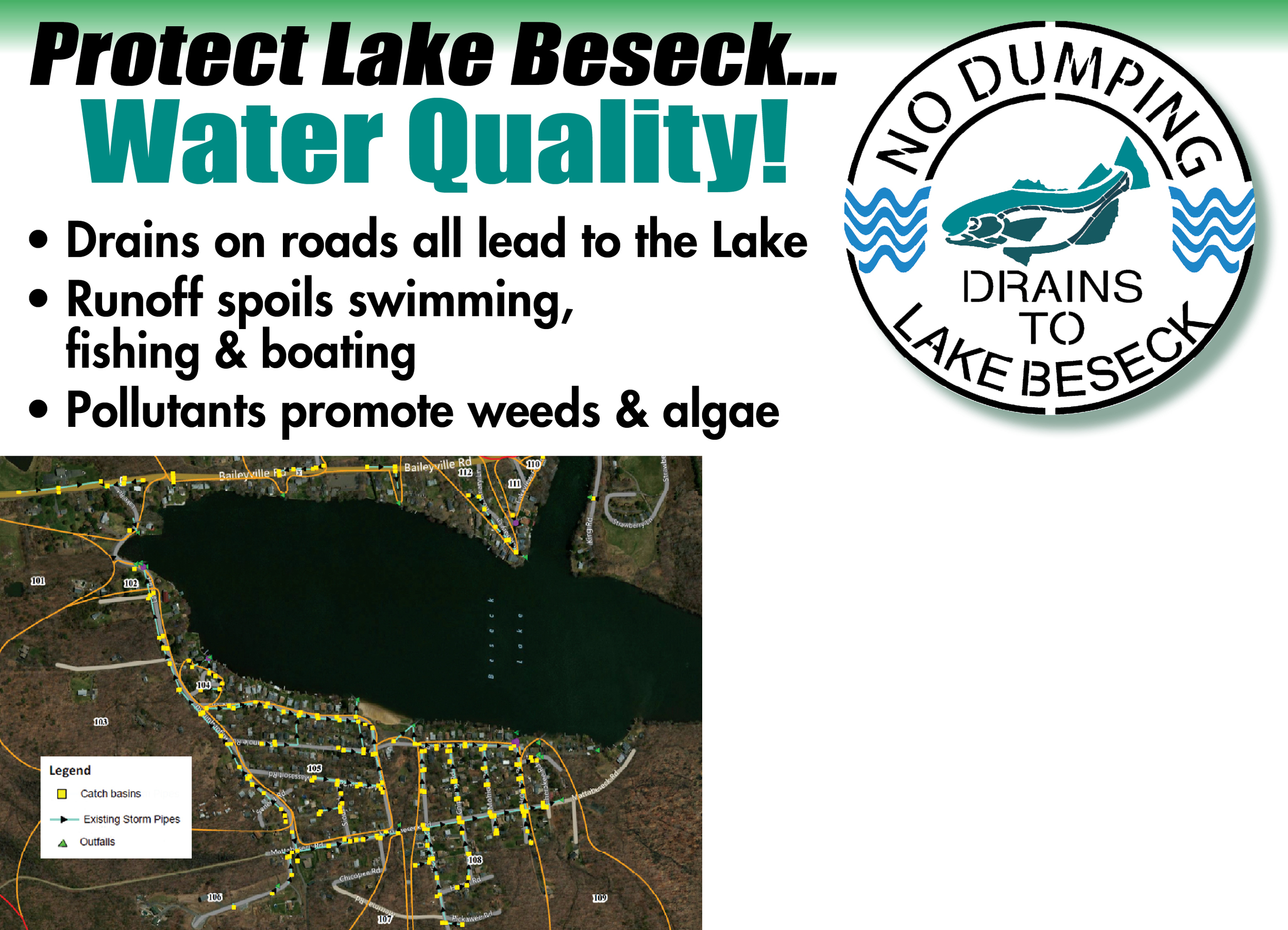 Lake Beseck Postcard back 2015.jpg