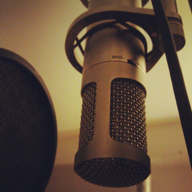 Onto vocals, songs are sounding great. @spellingoutdisaster  #vocaltracking #studioprojects
