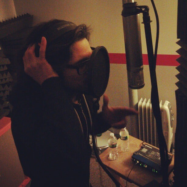 Tracking vocals today for The Press War! #studio #recording #vocals