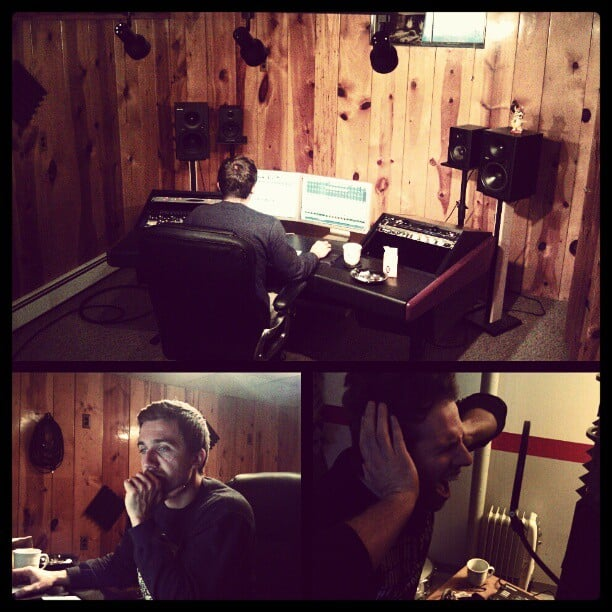 Tracking vocals for @itlivesitbreathes today! New EP sounds awesome