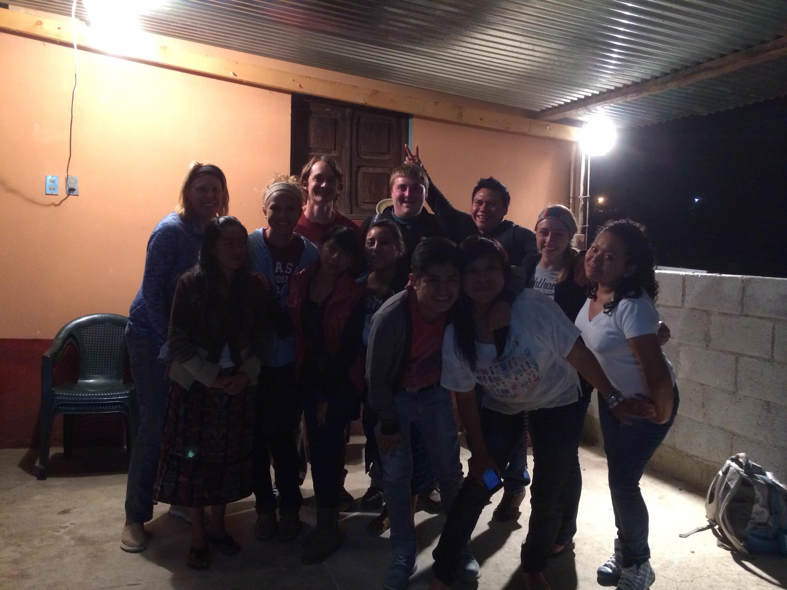small group...good times
