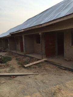 Teacher dormitories - they are hoping to have these ready in 2 weeks!