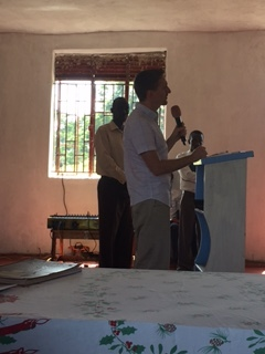 Mr. Steve allowing the Spirit to speak through him!