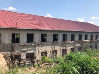 New roof and second story construction