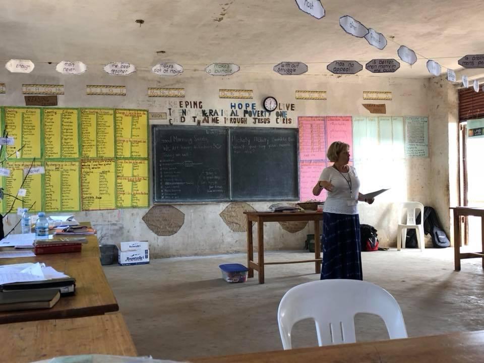 Deb during teacher training.jpg