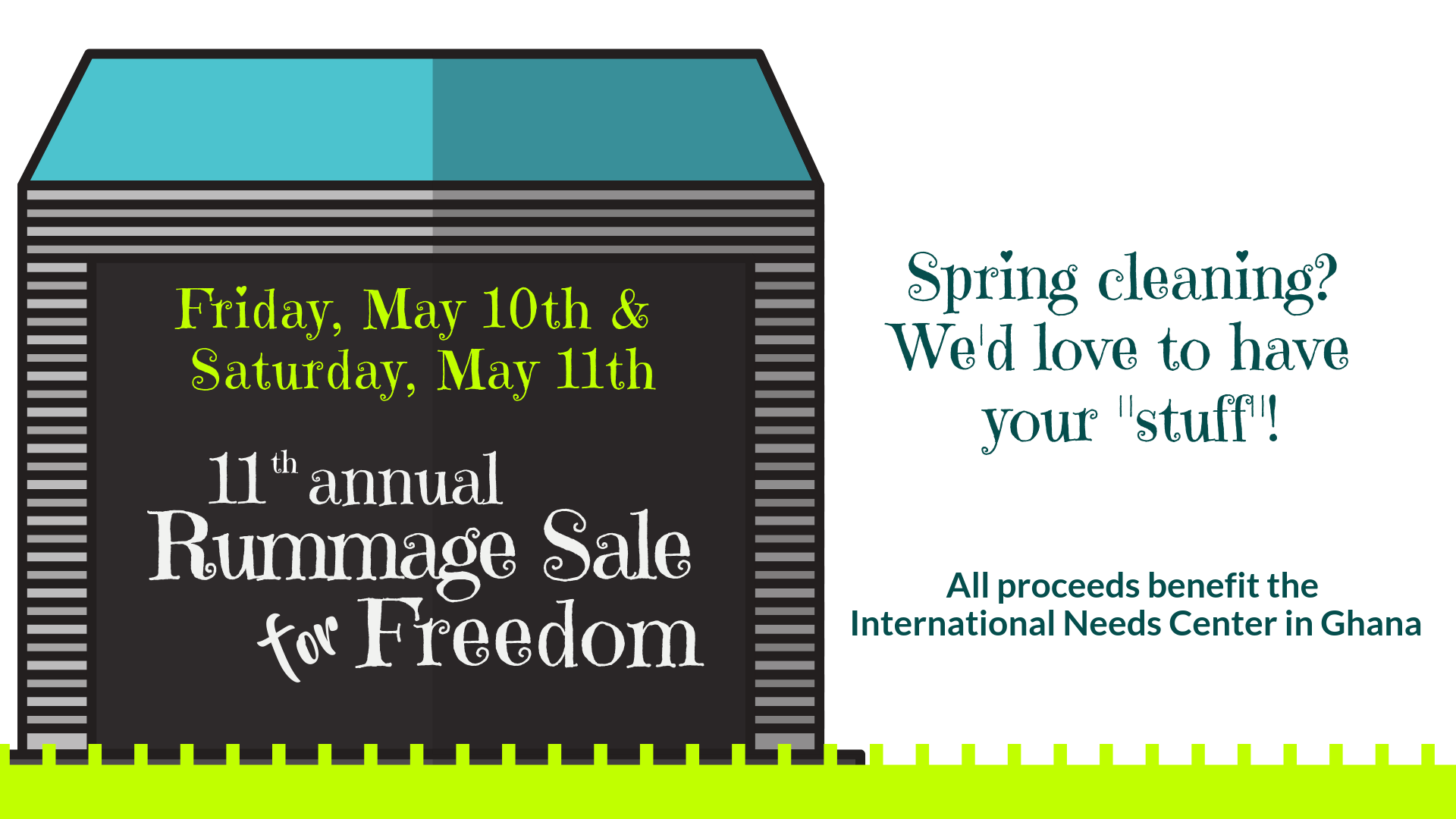 Rummage Sale for Freedom 2018 — Woodlands Church