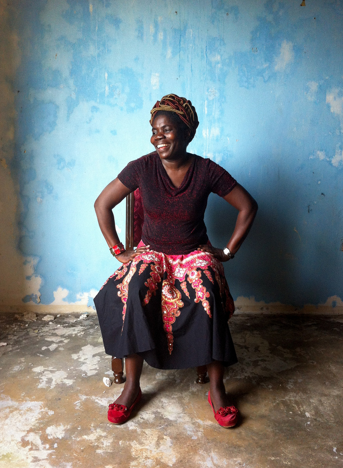Mae Azango is an award winning journalist for  FrontPage Africa  and a  New Narratives  fellow. Photo by Ken Harper