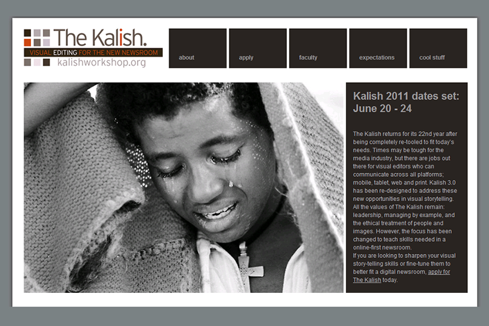 I was hired to design the template for the  Kalish Workshop