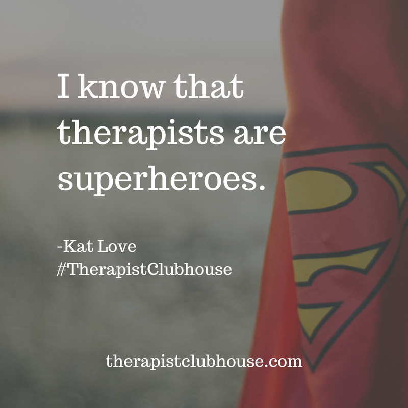 therapist superpowers