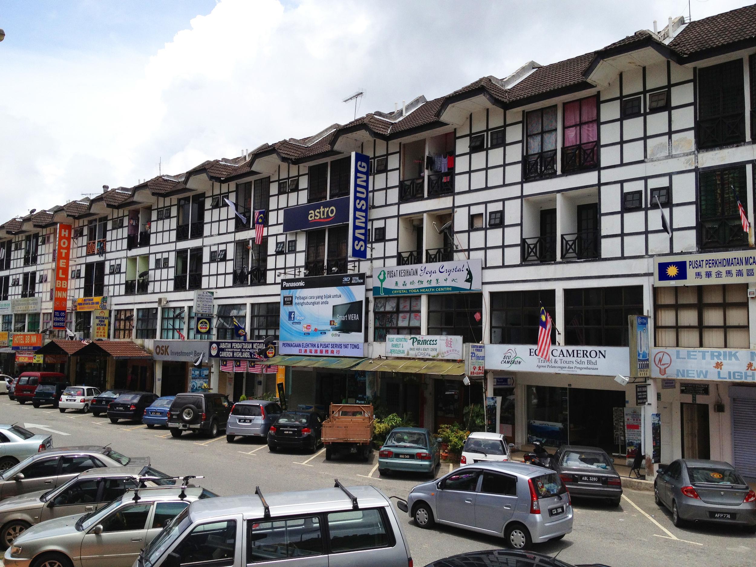 Tanah Rata High Street
