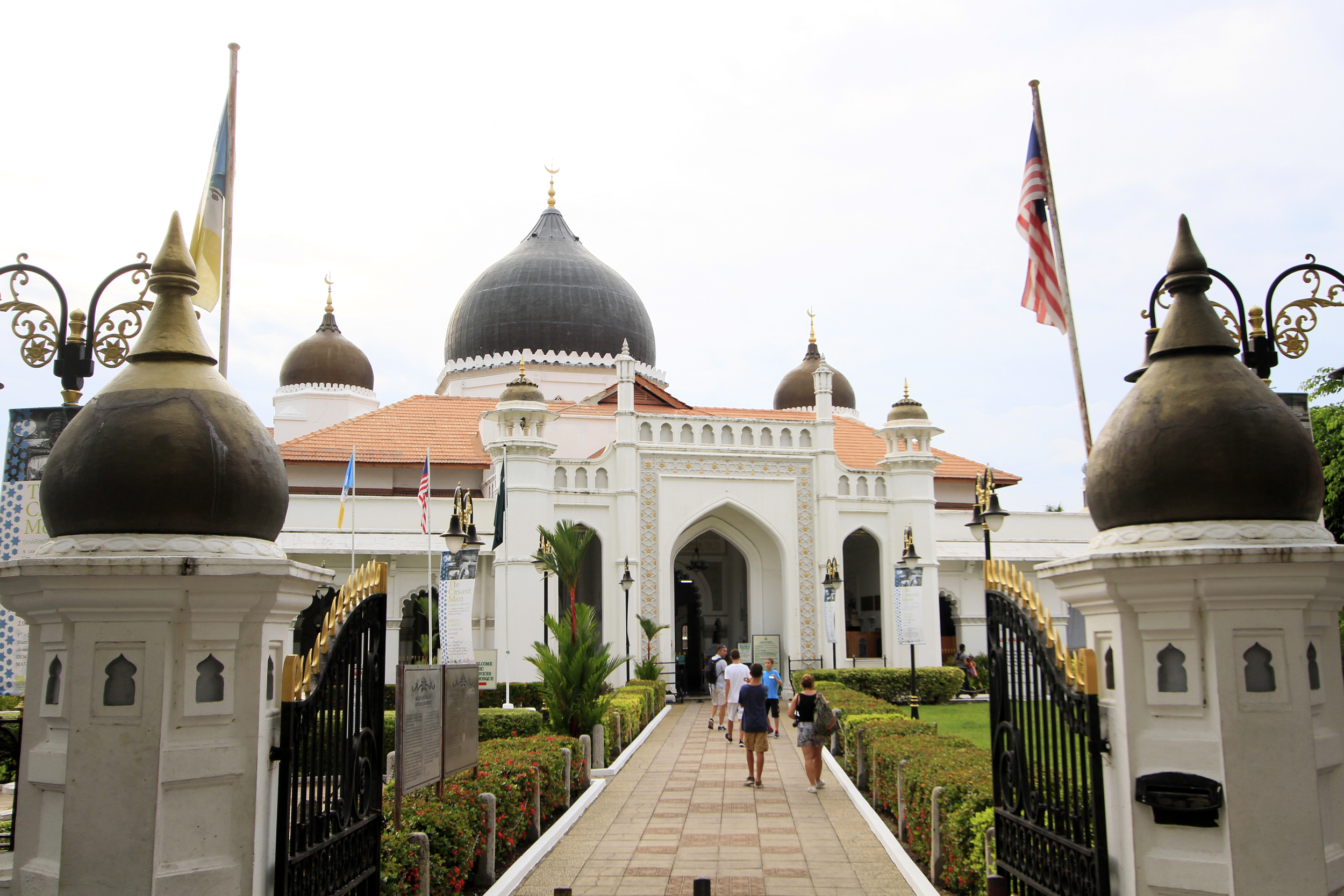 Masjid Kapitan Keling, Georgetown. Photo courtesy of Think City