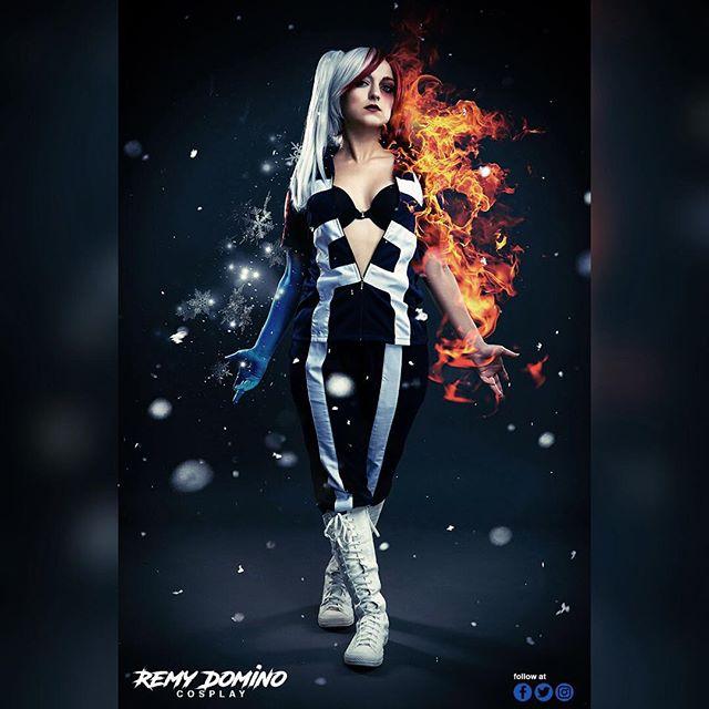 Checkout @remydominocosplay as #genderbent #shototodoroki from #myheroacademia #BokunoHīrōAkademia #cosplay check her out at @wizardworld in #neworleans this weekend #joshstringer #jasprophoto #atlantaphotographer #headshotcrew #californiaphotographer #newyorkphotographer #anime #cosplayphotographer #shoto #todoroki #icyhot #hotandcold #superhero #plusultra