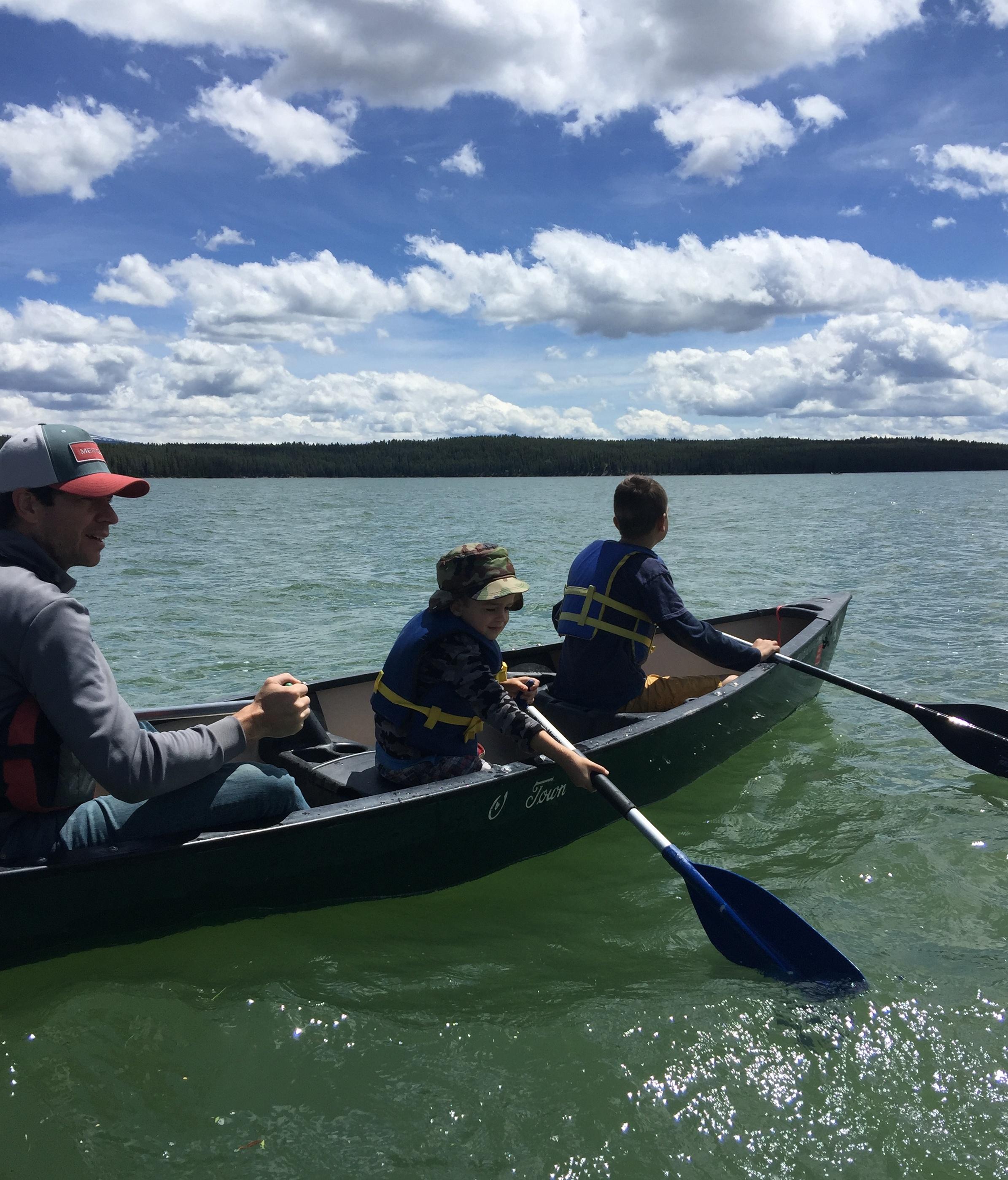 The A's - Jackson Lake - GTNP