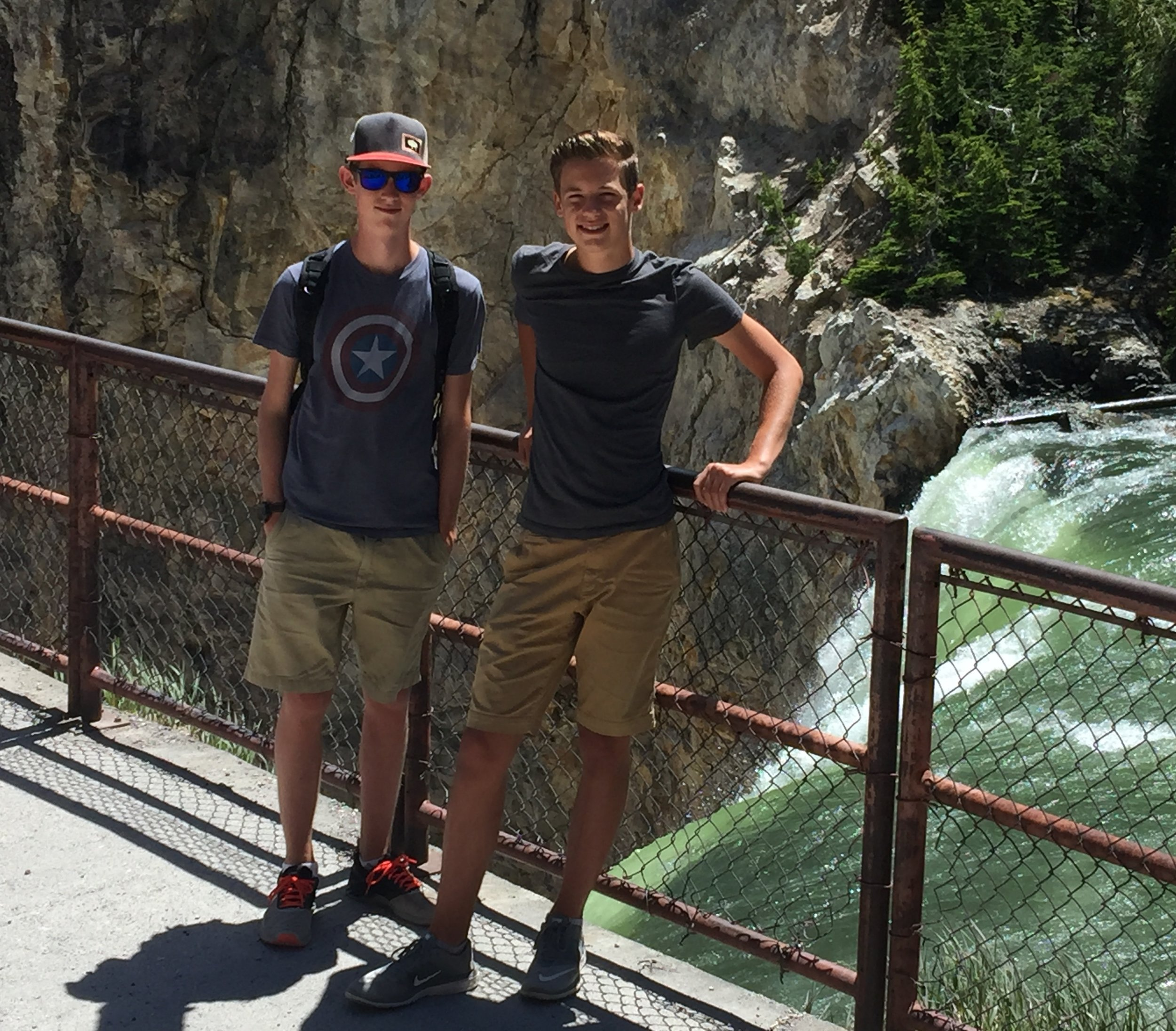 Lower Yellowstone Falls - 308 ft. Yikes!